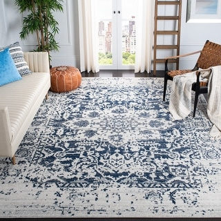 Link to Safavieh Madison Snowflake Boho Distressed Medallion Rug Similar Items in Transitional Rugs