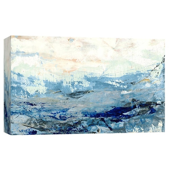 """PTM Images 9-101907 PTM Canvas Collection 8"""" x 10"""" - """"Coastal Seascape 11"""" Giclee Abstract Art Print on Canvas"""