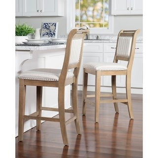 Link to Demi Rustic Grey Upholstered Counter Stool Similar Items in Dining Room & Bar Furniture