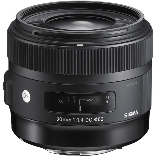 Sigma 30mm f/1.4 DC HSM Art Lens for Nikon (International Model) - black