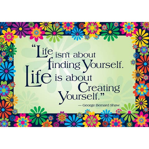 (6 Ea) Life Is About Creating Yours Elf Poster