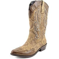 Dolce by Mojo Moxy Quiggly Women  Pointed Toe Synthetic  Western Boot