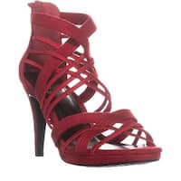 Impo Suki Strappy Dress Sandals, Scarlet Red - 6.5 us