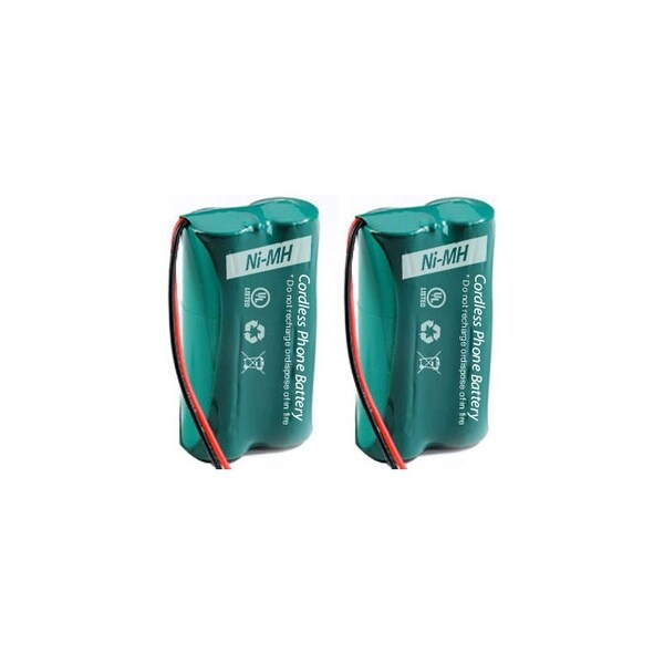 Replacement For Uniden BBTG0743101 Cordless Phone Battery (500mAh, 2.4V, NI-MH) - 2 Pack