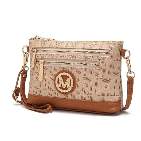 Mkf Collection M Signature Multipockets Crossbody Bag By Mia K.. Opens flyout.