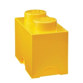 LEGO Medium Storage Brick 2, Yellow