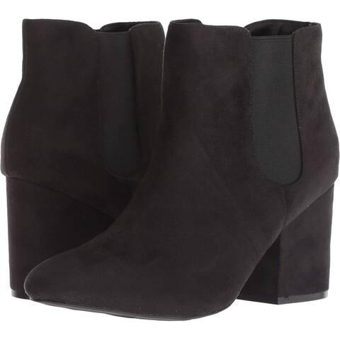 Mia Womens Zelma Round Toe Ankle Fashion Boots