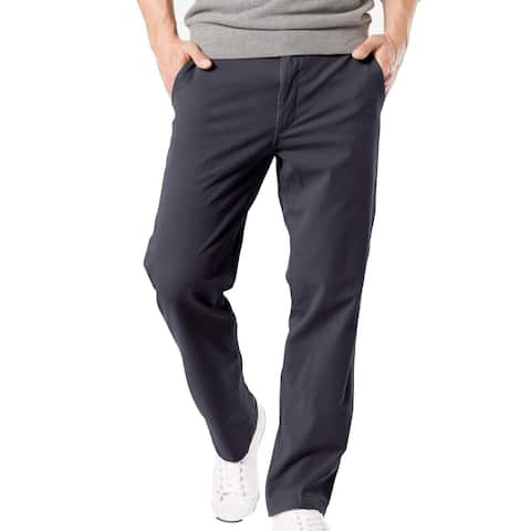 Dockers Mens Pants Blue Size 44x30 Big & Tall Downtime Khakis Stretch