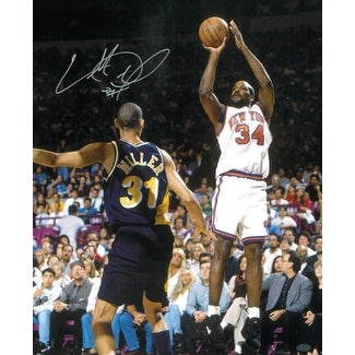 aed0dfac7 Shop Charles Oakley signed New York Knicks 16X20 Photo - Free ...