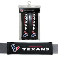 FREMONT DIE Inc Houston Texans Seat Belt Pad 2 Pack Seat Belt Pad 2 Pack