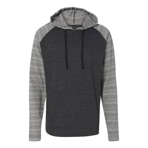 Yarn-Dyed Raglan Hooded Pullover