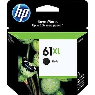 HP 61XL Black High Yield Original Ink Cartridge CH563WN