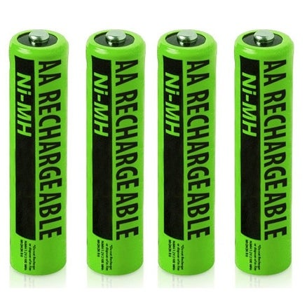 New Replacement Battery For VTECH NIMH AA Cordless Home Phone ( 4 Pack )
