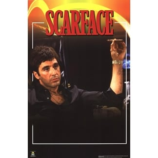 ''Scarface, In Chair'' by Anon Movie & TV Posters Art Print (20 x 16 in.)