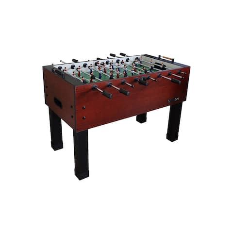 Carrom Wild Cherry PREASSEMBLED Foosball Table Soccer Model 750.35