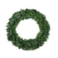 "36"" Mixed Cashmere Pine Artificial Christmas Wreath - Unlit - Green"
