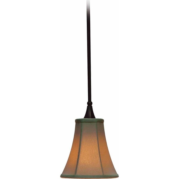 Volume Lighting V3251 Corinth 1-Light Mini Pendant - florence bronze - n/a