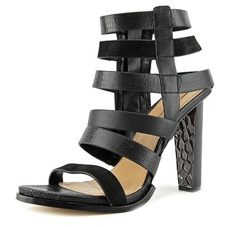 BCBG Max Azria Luke   Open Toe Leather  Sandals