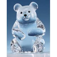 Pack of 8 Icy Crystal Clear Bear Figurines 3""