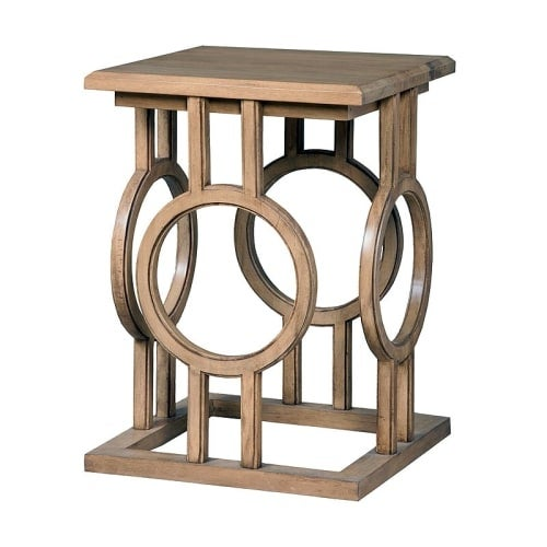 Attractive GuildMaster 714028 18 Inch Wide Mahogany Accent Table