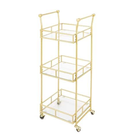 Collier 3-Tier Square Bar Cart