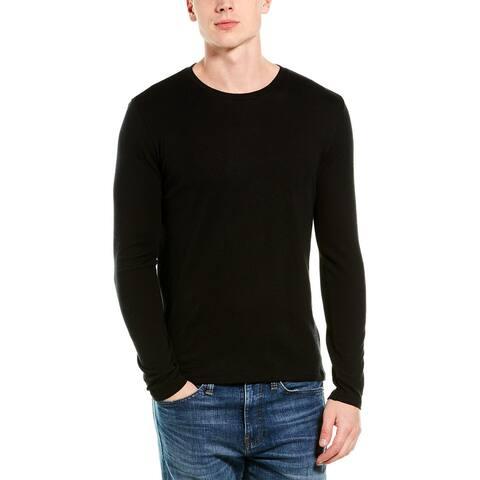 Vince Cashmere-Blend Crewneck Sweater