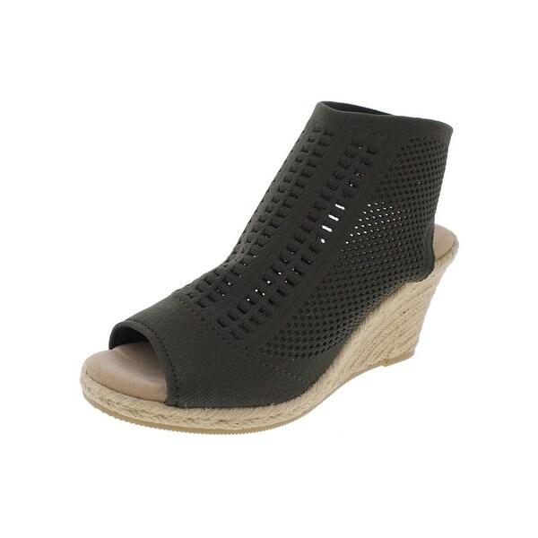 Steve Madden Womens Patient Wedge Sandals Espadrille Open Toe