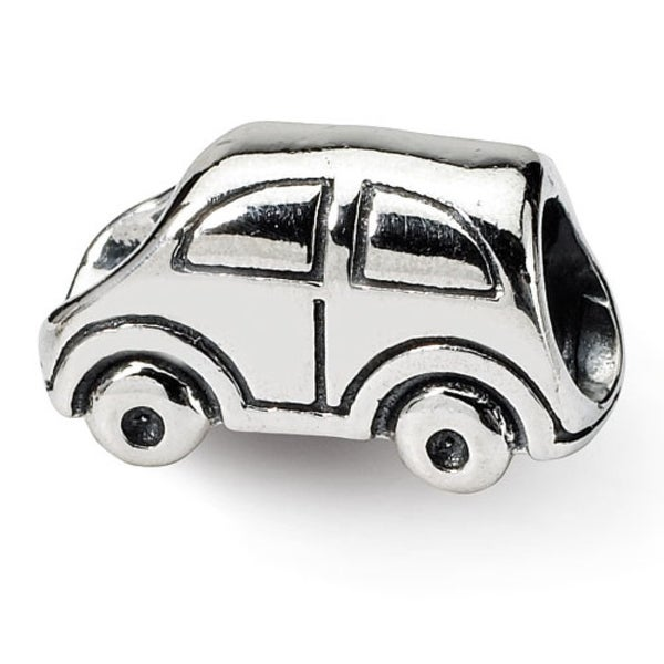 Sterling Silver Reflections Car Bead (4mm Diameter Hole)