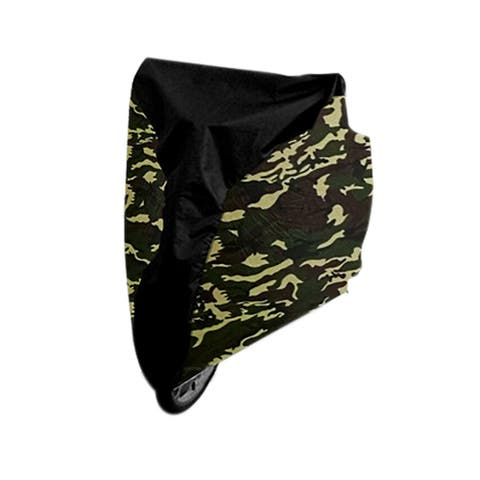 M Camouflage Color Bicycle Waterproof Rain UV Dust Resistant Protective Cover