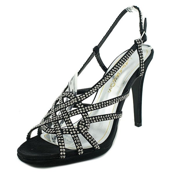 Caparros Womens VEGAS Open Toe Ankle Strap Classic Pumps