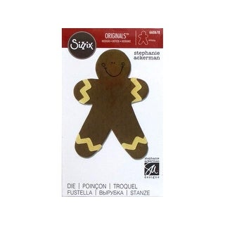 Sizzix SAckerman Originals Die Gingerbread Man #4