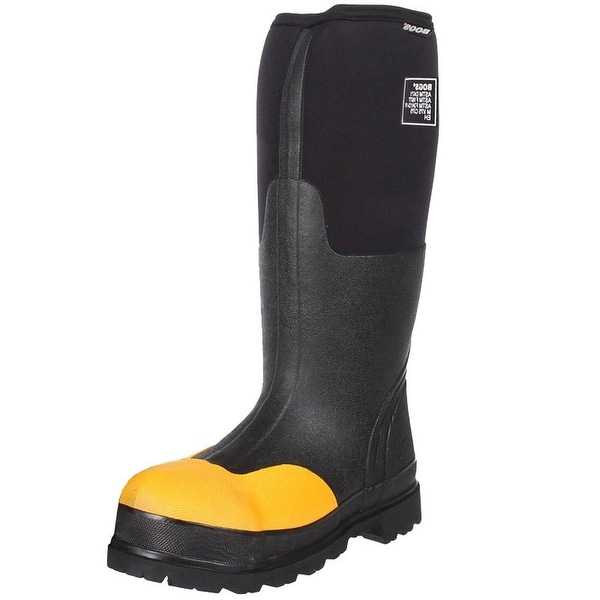 "Bogs Boots Mens Womens 16"" Forge ASTM Steel Toe WP Rubber"