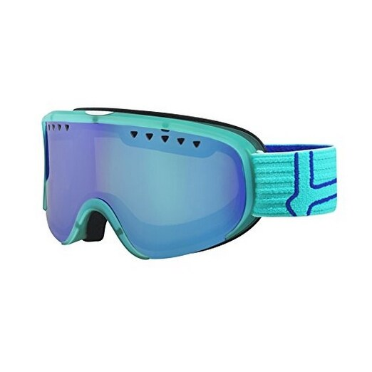 Bolle Unisex Scarlett , Matte Turquoise and Blue/Modulator Vermillon Blue , One Size