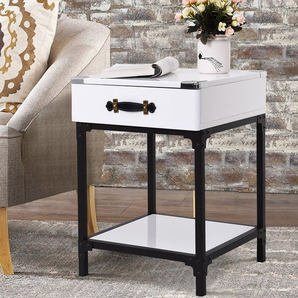 Modern Coffee Table For Sectional: Shop Gymax Modern Coffee End Table Accent Sofa Side Table