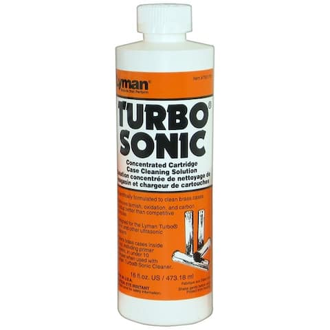Lyman 7631705 lyman turbo sonic case cleaning solution (concentrate) 16 fl oz