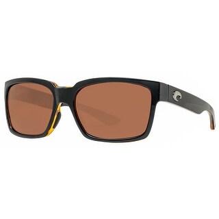 Costa Del Mar Playa PY80 OCGLP Black Amber/Copper 580G Polarized Sunglasses - black amber - 56mm-16mm-129mm