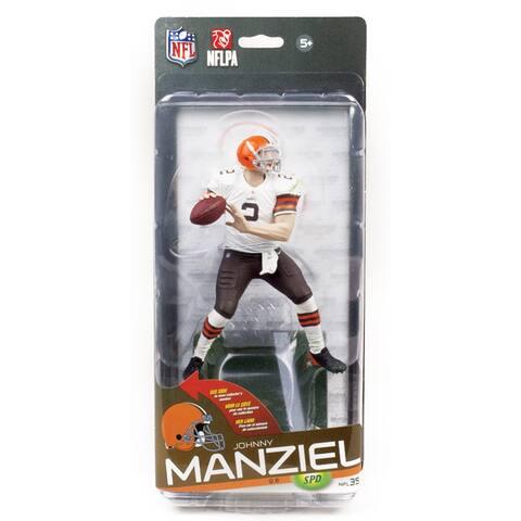 NFL Series 35 McFarlane Figure Cleveland Browns Johnny Manziel Bronze Variant - multi