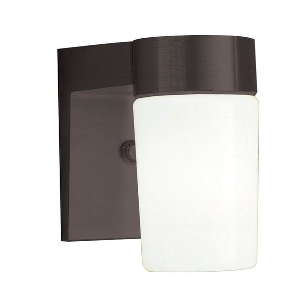 """Sunset Lighting F4511 1-Light 7"""" Height Outdoor Wall Sconce - N/A"""