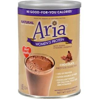 Designer Whey Aria Womens Protein Chocolate - 12 oz Bodybuilding Energy Shake