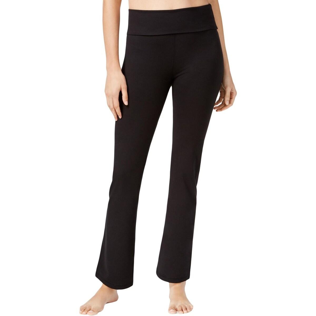 Gaiam Womens Om Nova Yoga Pants Bootcut