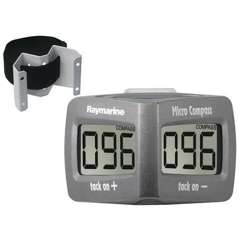 Raymarine 38326M Wireless Micro Compass System w/ Strap Bracket & Race Timer - Multicolor
