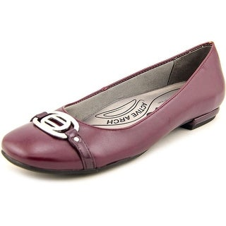 Life Stride Blissful N/S Round Toe Synthetic Flats