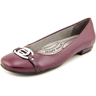 Life Stride Blissful W Round Toe Synthetic Flats