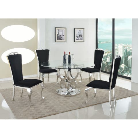 Somette Remi Round Dining Table