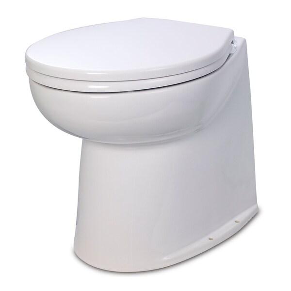 """Jabsco 17"""" deluxe flush fresh water toilet 24v"""