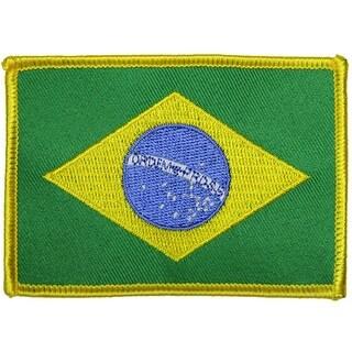 Gracie Jui-Jitsu Brazilian Flag Patch