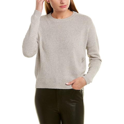 James Perse Dropped-Shoulder Sweater - Grey