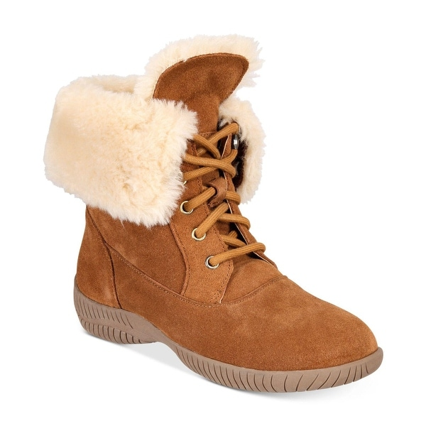 Shop Style & Co. Damenschuhe Angiee Leder Leder Leder Round Toe Mid Calf Cold ... aaac7b