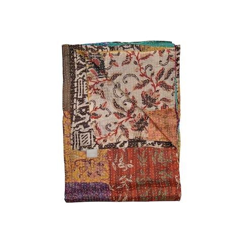 """50"""" x 70"""" Silk Multicolor Throws"""