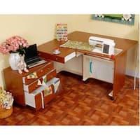 Kangaroo Kabinets - Kangaroo & Joey Sewing Cabinet-Teak